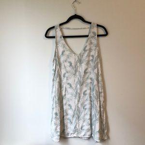 RVCA Palm Print Shift Dress